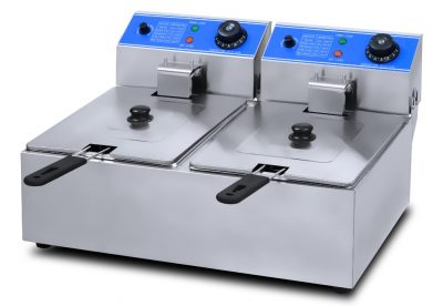 ANVIL 2 x 5L Countertop Double Tank Electric Fryer FFA-2002