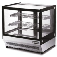 ATOSA 120L Two Shelf Square Glass Deli Counter WTF120L