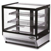 ATOSA 120L Two Shelf Square Glass Deli Counter WTF120L