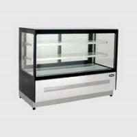 ATOSA 290L Two Shelf Squared Glass Deli Counter WDF097F