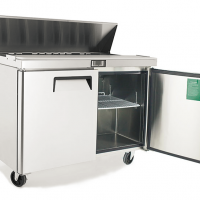 ATOSA 515L Large Double Door Food Prep Table Fridge MSF8303