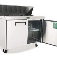 ATOSA 515L Large Double Door Food Prep Table Fridge MSF8303