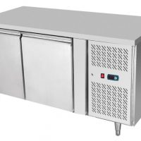 ATOSA EPF3422GR Double Door Under Counter Fridge 280L