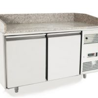 ATOSA EPF3495GR Pizza Counter with 2 Doors 485L