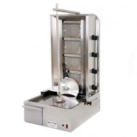 Archway Single 4 Burner Natural Gas Kebab Machine 4BSTD-NG