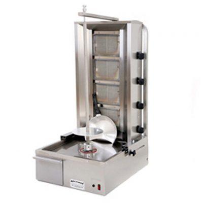 Archway Single 4 Burner Natural Gas Kebab Machine 4BSTD-NG