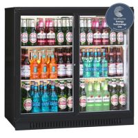 BLIZZARD BAR2SL Sliding Double Door Bar Bottle Cooler 200L