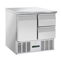 BLIZZARD BCC2-2D-ECO Compact Gastronorm Counter with Drawers 214L