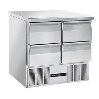 BLIZZARD BCC2-4D-ECO Compact Gastronorm Counter with Drawers 214L