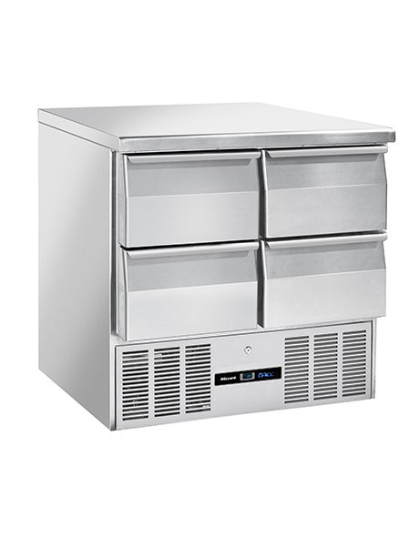 BLIZZARD Compact Gastronorm Counter with Drawers BCC2-4D-ECO