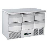 BLIZZARD BCC3-6D-ECO Compact Gastronorm Counter with Drawers 342L