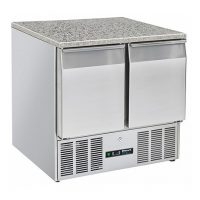 BLIZZARD Compact Gastronorm Counter with Granite Worktop BCC2-GR-TOP-ECO