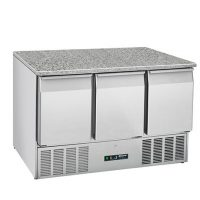 BLIZZARD Compact Gastronorm Counter with Granite Worktop BCC3-GR-TOP-ECO