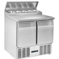 BLIZZARD BCC2EN-ECO Compact Gastronorm Counter with Prep Top 227L