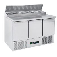 BLIZZARD BCC3EN-ECO Compact Gastronorm Counter with Prep Top 376L
