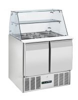BLIZZARD Compact Gastronorm Prep Station with Display BPD2-ECO