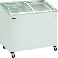 BLIZZARD Curved Lid Ice Cream Display Freezer IC10