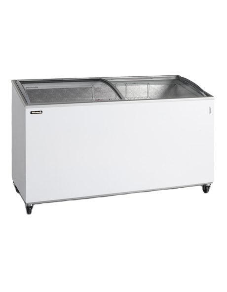 BLIZZARD Curved Lid Ice Cream Display Freezer IC15