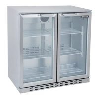 BLIZZARD Double Door Bar Bottle Cooler BAR2SS