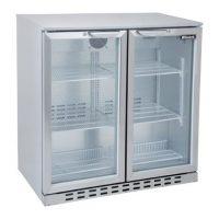 BLIZZARD Double Door Bar Bottle Cooler BAR2SS