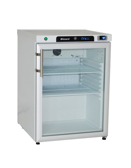 BLIZZARD Glass Door Refrigerator HG200SS