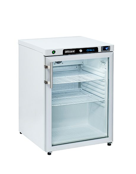 BLIZZARD Glass Door Refrigerator HG200WH