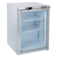BLIZZARD UCF140CR Glass Door Under Counter Freezer 125L