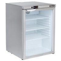 BLIZZARD Glass Door Under Counter Refrigerator UCR140CR