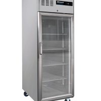 BLIZZARD Glass Door Ventilated Gastronorm Refrigerator BH1SSCR