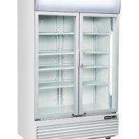 BLIZZARD Glass Double Door Drinks Merchandiser GD1000