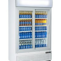 BLIZZARD Glass Double Door Drinks Merchandiser GD1000SL