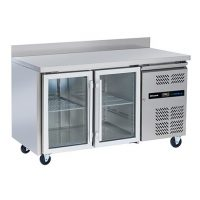BLIZZARD HBC2CR Refrigerated Glass Door Gastronorm Counter 313L