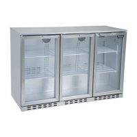 BLIZZARD Triple DoBLIZZARD BAR3SS Triple Door Bar Bottle Cooler 310L