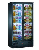 BLIZZARD Upright Double Door Bar Bottle Cooler BAR20