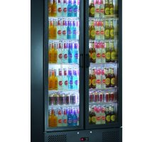 BLIZZARD BAR20 Upright Double Door Bar Bottle Cooler 417L