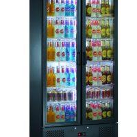 BLIZZARD Bar 20 Upright Double Door Bar Bottle Cooler