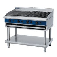 Blue Seal 1200mm Gas Chargrill G598-LS - Leg Stand