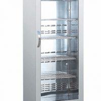 BLIZZARD BAR10SS Upright Stainless Steel Bottle Cooler 260L