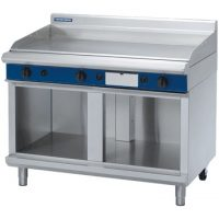 Blue Seal 1200mm Gas Griddle with Cabinet Base GP518-CB