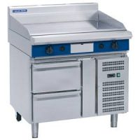 Blue Seal 1200mm Gas Griddle with Refrigerated Base GP518-RB