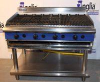 Blue Seal 4 Burner Natural Gas Chargrill G598-LS 1