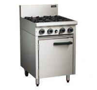 Blue Seal CR6D Gas 600mm 4 Burner Static Oven