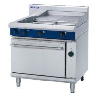 Blue Seal E56B Electric Range 600mm Griddle 2 Elements Convection Oven
