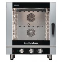 Blue Seal EC40M7 Turbofan Manual 7 Grid Electric Combination Steamer Oven