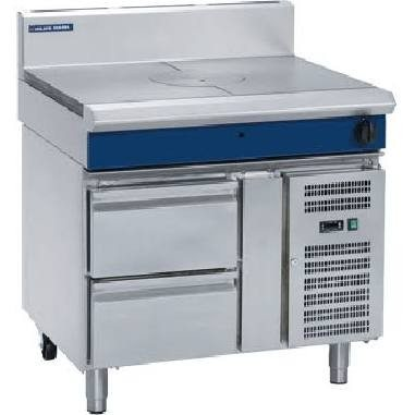 Blue Seal G57-RB 900mm Gas Target Top with Refrigerated Base