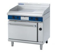 Blue Seal GPE56 Gas Griddle Electric Convection Oven