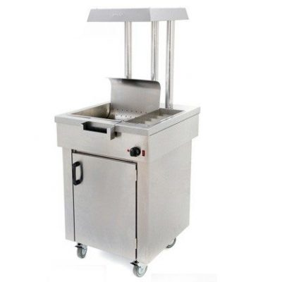 Archway CS1/E Chip Scuttle with Cupboard 640mm (w)