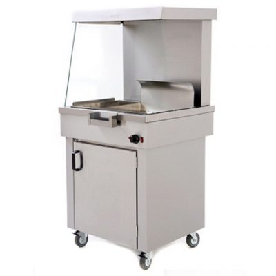 Archway CS2/E Chip Scuttle with Cupboard 740mm (w)