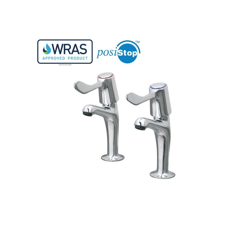 "Catertap 1/2"" Sink Taps with 3-Inch Levers WRCT-500SL3"