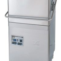 DC Premium Pass-through Dishwasher with Chemical Pump & Drain Pump PD1000 CP D - 500mm 18 plate